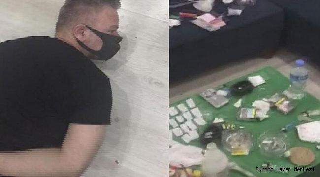 Uyuşturucu satışı organize eden resepsiyonist gözaltına alındı!
