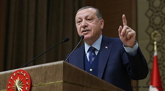 Cumhurbaşkanı Erdoğan: ''Turizm dışındaki tüm sektörlerde...''