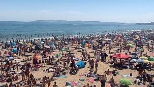 Rus turist Karadeniz'de tatile böyle isyan etti!