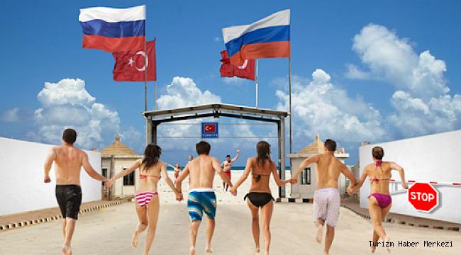 Rusya'da her 2 rezervasyondan 1'i Türkiye'ye