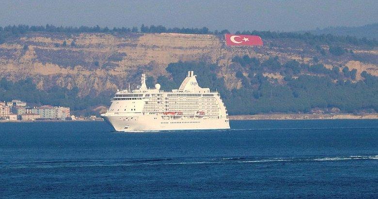 Dev kruvaziyerler rotayı güvenli liman Türkiye'ye çevirdi