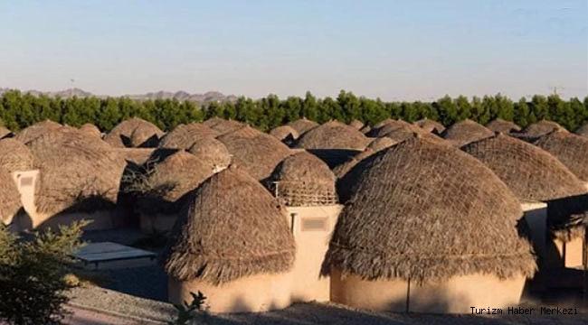 Dünyanın hurma yapraklarından yapılan ilk ve tek oteli