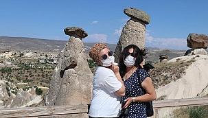 İşte koronavirüs gölgesinde Kapadokya'yı ziyaret eden turist sayısı