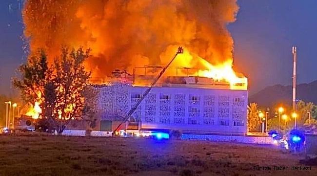 Ünlü tatil bölgesindeki otelde yangın! Ölü ve yaralılar var