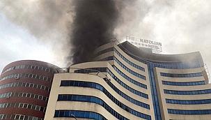 Gaziantep'teki otelde bir yılda üçüncü yangın!