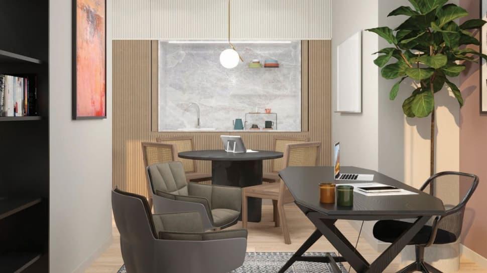 Şehir otellerinin odaları ofise dönüşmeye başladı
