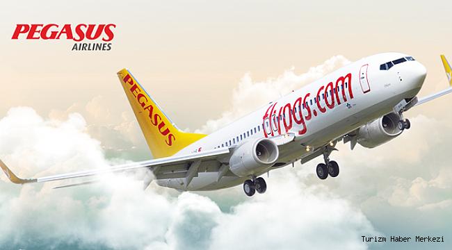 Pegasus Antalya Moskova uçuşlarına başlıyor