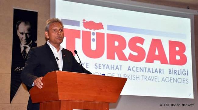 TÜRSAB Başkanı Bağlıkaya: ''Turizmde tekeri döndürecek desteklere ihtiyaç var''