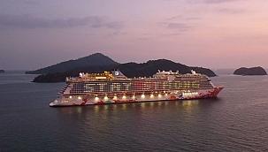 'Hiçbir yere gitmeyen'yolcu gemisi sefere başladı!