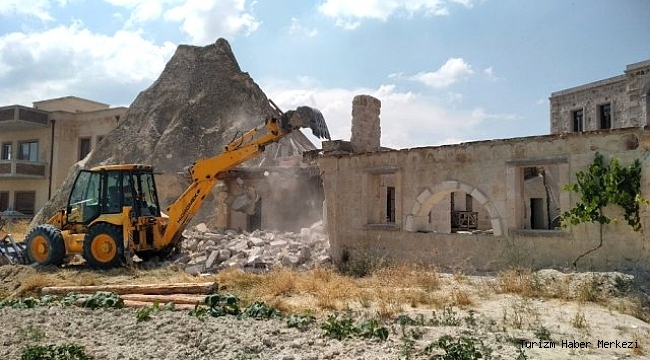 Kapadokya'da 305 yapıya yıkım kararı!