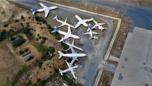 Atatürk Havalimanı'ndaki 9 uçak satışa çıktı!