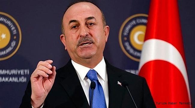 Bakan Çavuşoğlu'ndan 'Güvenli turizm' açıklaması