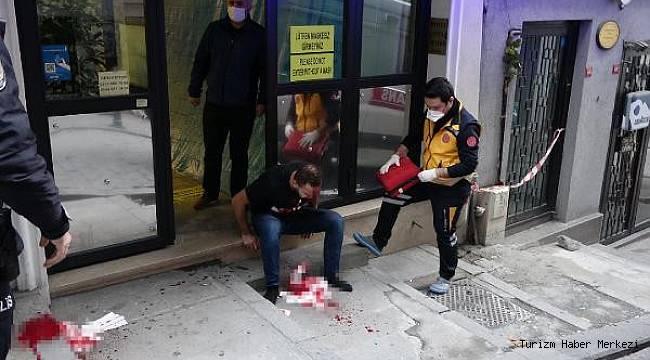 Beyoğlu'ndaki otelde dehşete düşüren olay! Elindeki tabancayla...