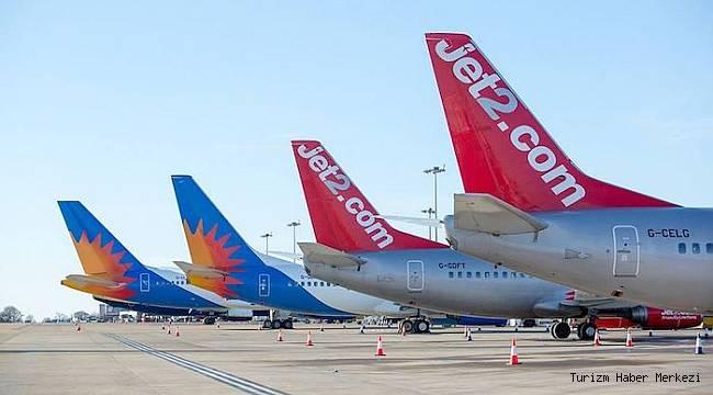 Jet2'den 2021 sezonunda Türkiye'nin 4 turizm merkezine yeni uçuş!
