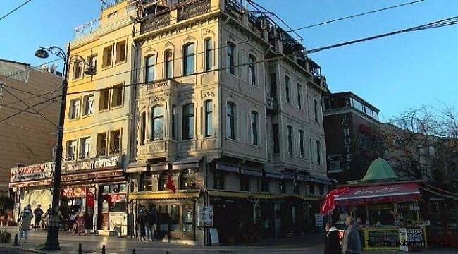 Dünyanın merkezinde! İstanbul'daki tarihi han satışa çıktı