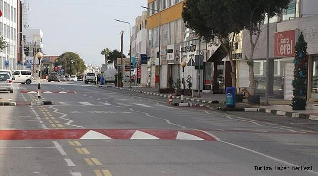 KKTC'de sokağa çıkma yasağı bir kez daha uzatıldı!