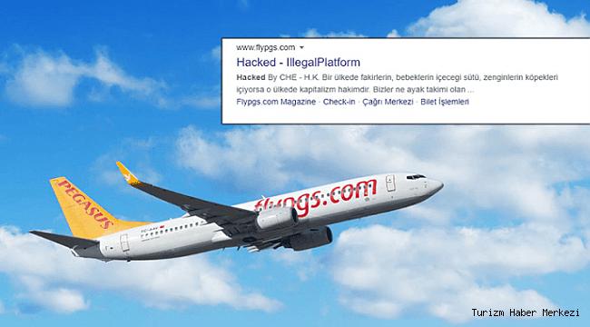 Pegasus'un web sitesi hacklendi! Kişisel bilgiler risk altında