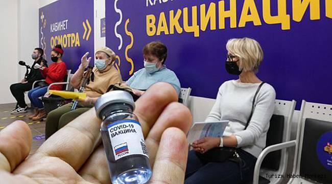 Rusya'da 'Her şey dahil tatil' yerine 'Aşı dahil tatil'