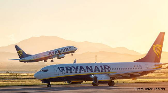 Ryanair, 26 yeni güzergahla İngiltere'den yaz programını genişletiyor