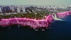 Turizmin başkenti Antalya'daki ışıklandırmaya pavyon benzetmeli tepki!