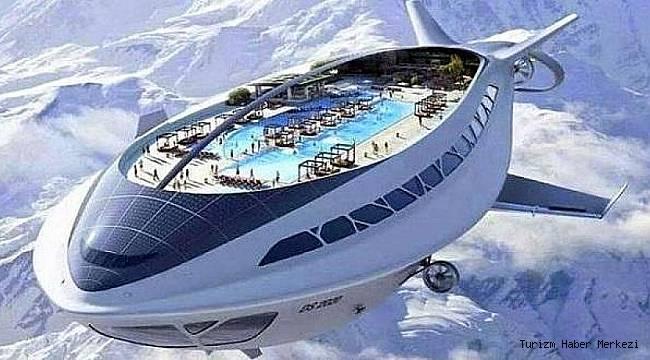 Türk firma yaptı! İşte havadaki otel