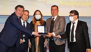 Yılın Turizm Projesi ödülünü aldılar!