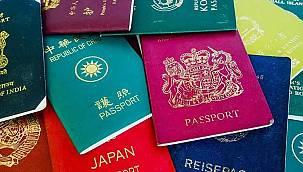 2021 yılının en güçlü pasaportları belli oldu! İşte Türkiye'nin sırası