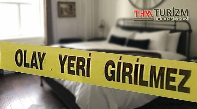 Alanya'daki otelde şüpheli ölüm! Covid 19 testi yapılacak