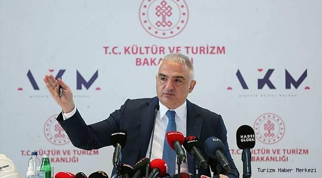 Bakan Ersoy'dan Atatürk Kültür Merkezi ve Galataport açıklaması
