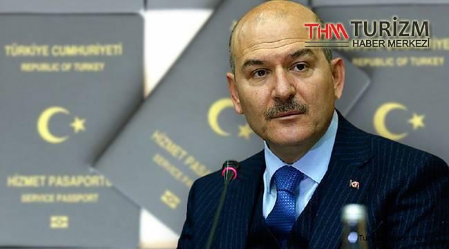 Bakan Soylu gri pasaportla yurt dışına gidip dönmeyenlerin sayısını açıkladı!