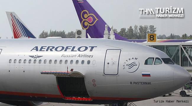 Aeroflot hükümet kararını beklediğini açıkladı! Uçuşları iptal etti
