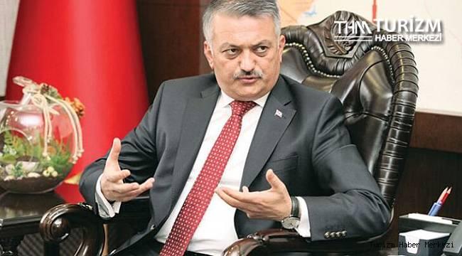 Antalya Valisi Yazıcı: ''2021 turizm sezonuna daha ümitle bakıyoruz''