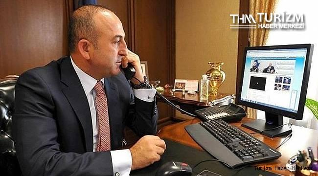Bakan Çavuşoğlu'ndan seyahat kısıtlamalarının kaldırılması için görüşme! Anlaşmaya varıldı