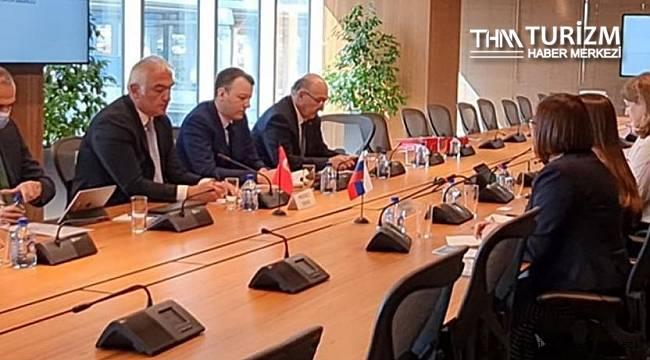 Bakan Ersoy'un Rusya ziyaretinden ilk ayrıntılar