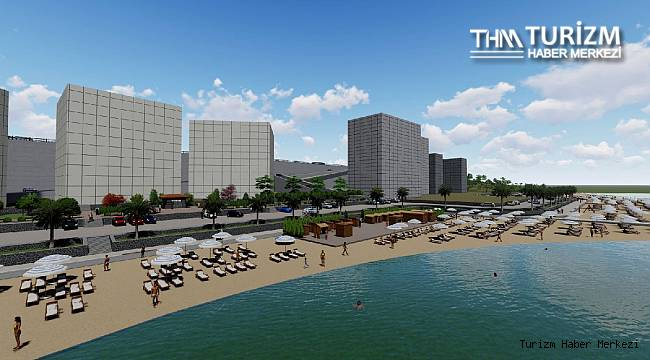Doğal plaja 7 milyon 880 bin liralık yatırımla yaşam alanı projesi!