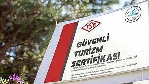 Güvenli Turizm Sertifika Programı Turizm Teşvik Kanunu'na giriyor