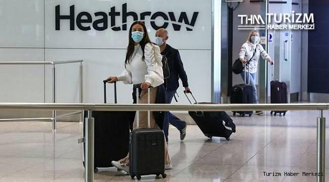 İngiltere'de uluslararası seyahatler için 3 kategorili plan