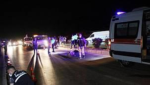Otel personeli feci kazada hayatını kaybetti!