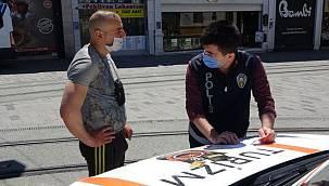 Turizm polisi affetmedi! Turist görünümlü yabancılara yine ceza yağdı
