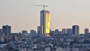 Ankara'nın simgesi 35 katlı otel borçlarından dolayı Alman bankanın oldu
