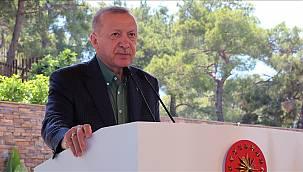 Cumhurbaşkanı Erdoğan otel açılışında konuştu: ''Morallerin yerinde olduğunu görüyorum''