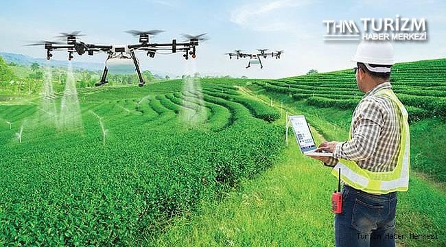Drone ile tarımsal ilaçlamada Agroflytech farkı!