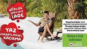 ETS'nin yaz fırsatları kampanyası ayrıcalıklı fiyatlarla başladı!