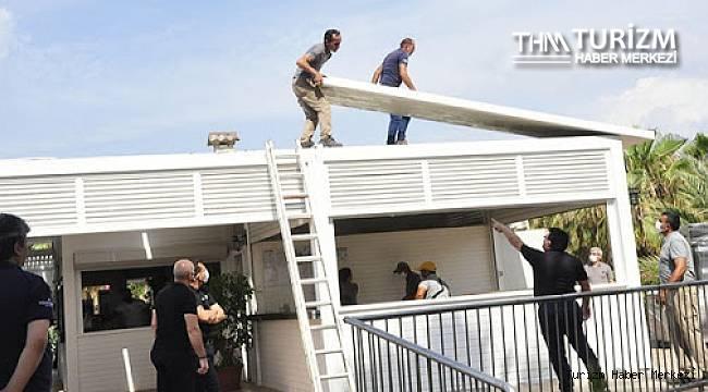 Sezon açılışı yapan Antalya'daki 5 yıldızlı otelde yıkım!