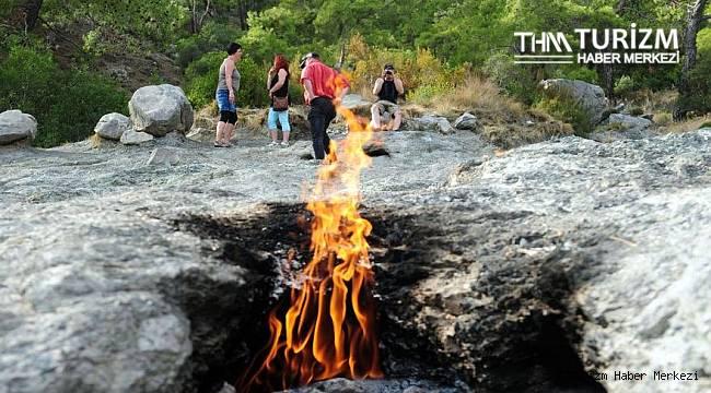 Sönmeyen ateşin bulunduğu bölgenin koruma statüsü değiştirildi