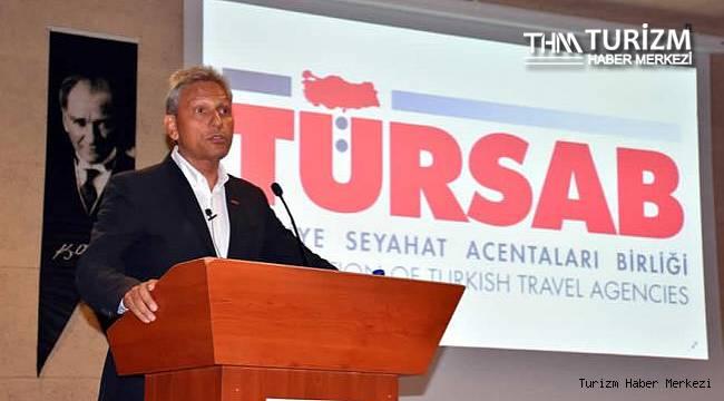 TÜRSAB Başkanı Bağlıkaya'dan sezon açıklaması: ''2019'u yakalayamayız ama...''