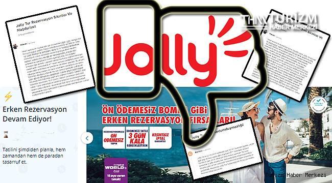Ücret iadesi yapmayan Jolly Tur müşterilerini isyan ettirdi!