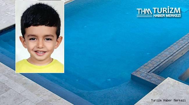6 yaşındaki çocuk otel havuzunda boğuldu!