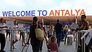 İşte Antalya'ya Temmuz ayında gelen turist sayısı