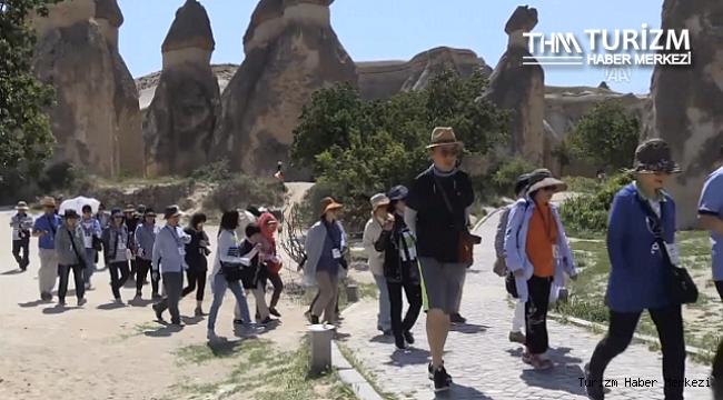 Kapadokya'nın Haziran ayı turist sayısı belli oldu